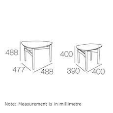 Phila Occasional Table Set - Black - Image 2