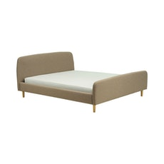 Guido Queen Bed - Harmonic Tan - Image 1