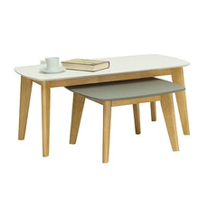 Arthur High Coffee Table - White - Image 2