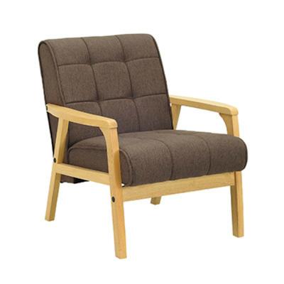 Tucson 1 Seater Sofa - Natural, Chestnut - Image 1