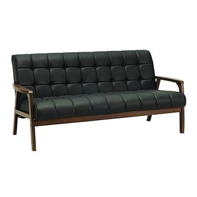Tucson 3 Seater Sofa - Cocoa, Espresso - Image 1