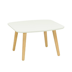Banji Low Coffee Table - White - Image 1