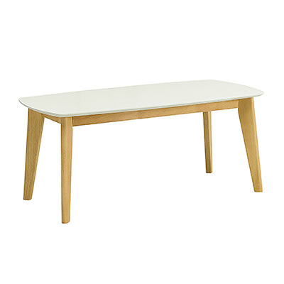 Arthur High Coffee Table - White Lacquered - Image 1