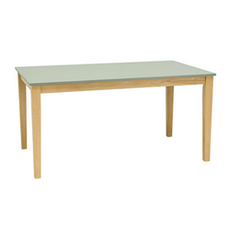 Paco 6 Seater Dining Table - Natural, Grey - Image 1