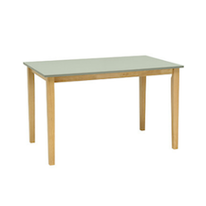 Paco 6 Seater Dining Table - Natural, Grey - Image 2