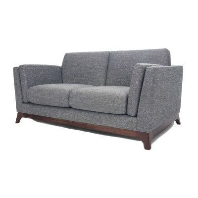 Elijah 2-Seater Sofa - Cocoa, Pebble - Image 2