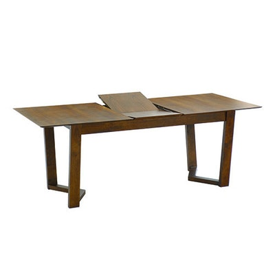 Vitas 6 Seater Extension Table - Cocoa - Image 1
