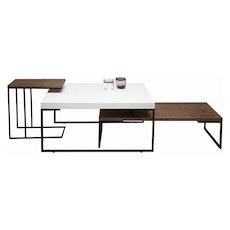 Micah Side Table - Black Ash, Matt Black - Image 2