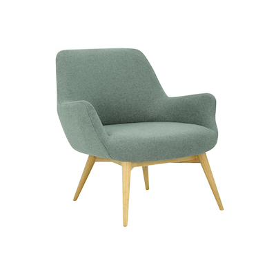 Berlingo Lounge Chair - Marble Blue - Image 1