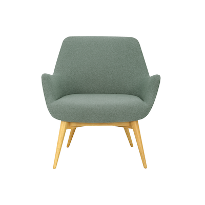 Berlingo Lounge Chair - Marble Blue - Image 2
