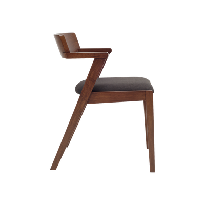 Imogen Dining Chair - Cocoa, Mud (Set of 2) - Image 2
