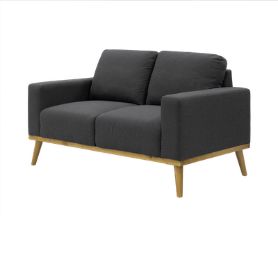 Malcolm Loveseat - Charcoal - Image 2