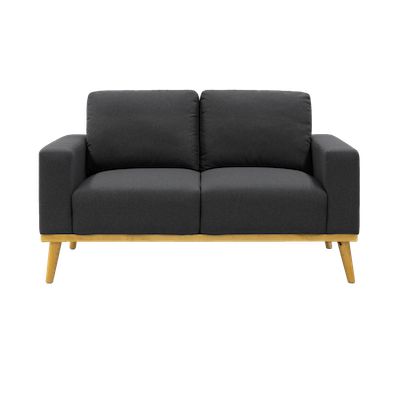 Malcolm Loveseat - Charcoal - Image 1