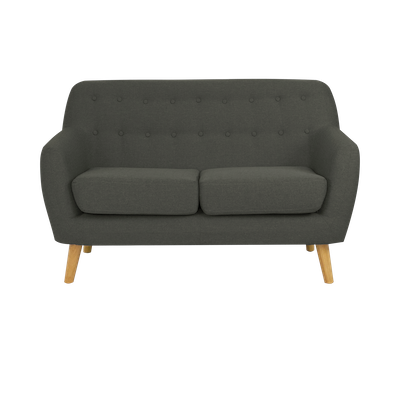 Emma Loveseat - Charcoal - Image 1