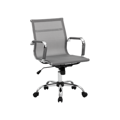 Eames Mid Back Mesh Office Chair - Grey - Image 2