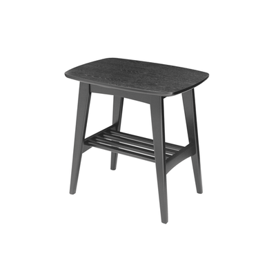Hubie Side Table - Black - Image 1