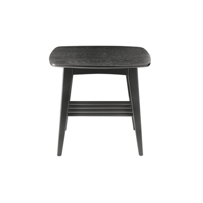 Hubie Side Table - Black - Image 2