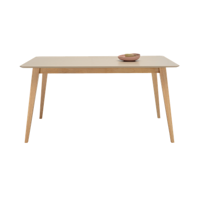 Ralph Dining Table 1.5m - Natural, Taupe Grey - Image 2