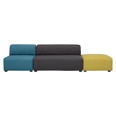 Aston 1 Seater Sofa - Ruby - Image 2