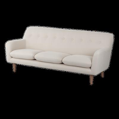 Sienna 3 Seater Sofa - Khaki - Image 2