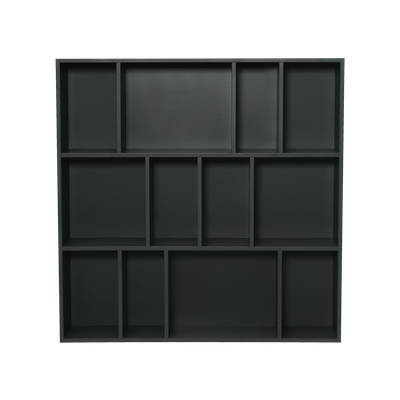 Wilkie Square Rack - Charcoal Grey - Image 1