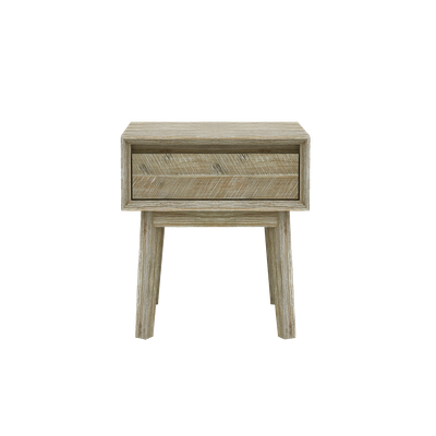 Leland Single Drawer Bedside Table - Image 1