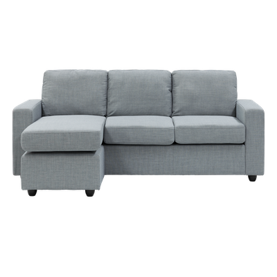 Hank L Shape Sofa - Slate - Image 2