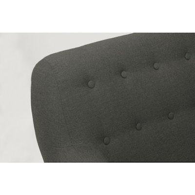 Emma Loveseat - Charcoal - Image 2