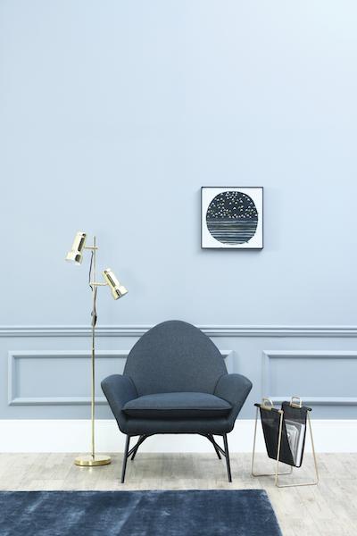 Crane Floor Lamp - Brass - Image 2