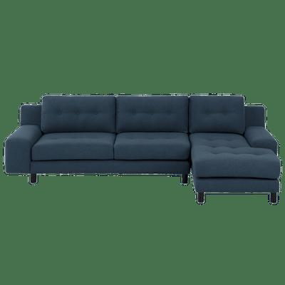 Wyatt L Shape Sofa - Midnight (Fabric) - Image 2