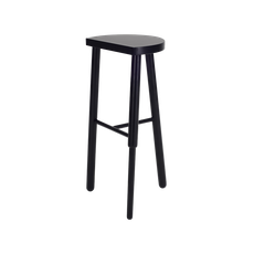 Paige Bar Stool - Black - Image 2