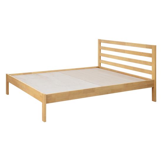 Stockholm - Kyoto Solid Wood Bed - Oak - King