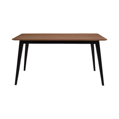 Ralph Dining Table 1.5m - Black, Cocoa - Image 1