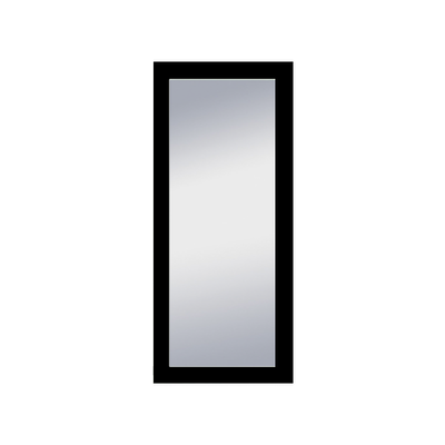 Dahlia Full Length Floor Mirror 60 x 140 cm - Black - Image 1
