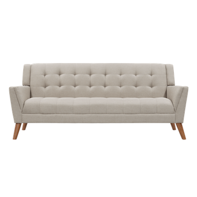 Stanley 3 Seater Sofa - Sand - Image 1