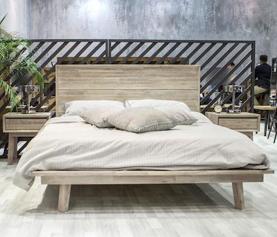 Leland Queen Platform Bed - Image 2