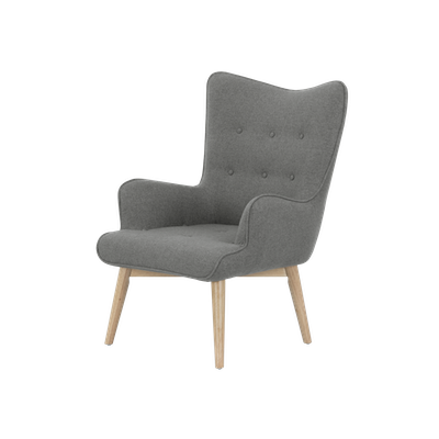 Rio Lounge Chair - Slate - Image 1