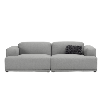 Flex 3 Seater Sofa - Squirrel grey - Image 1
