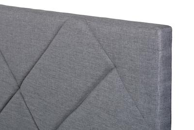 Evan Single Headboard Bed - Granite - Image 2
