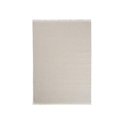 Stringa 100% Handloom Wool Rug (1.7m by 2.4m) - Sand - Image 1