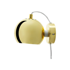 Slug Wall Lamp - Brass - Short - Image 2