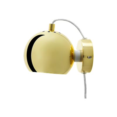 Slug Wall Lamp - Brass - Short - Image 1