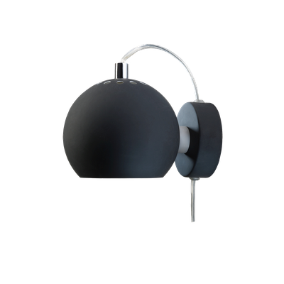 Slug Wall Lamp - Matte Black - Short - Image 1