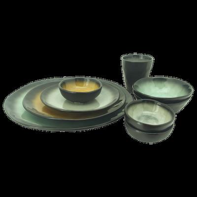 Lilac Small Dip Bowl - Green (Set of 6) - Image 2