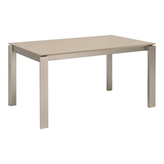 Elwood 6 Seater Dining Table - Taupe Grey - Image 1