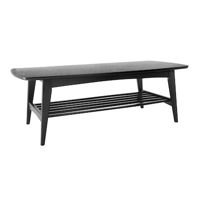 Hubie Coffee Table - Black - Image 2