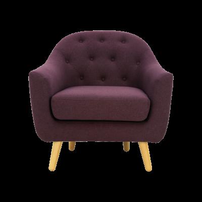 Senku Lounge Chair - Orchid - Image 2
