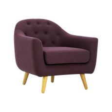 Senku Lounge Chair - Orchid - Image 1