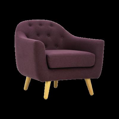 Senku Lounge Chair - Orchid - Image 1