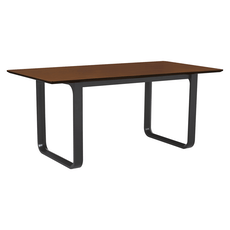 Ulmer 8 Seater Dining Table - Walnut - Image 2